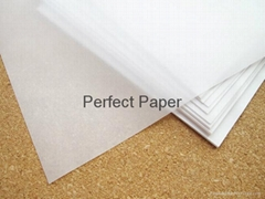Wood pulp white tissue p