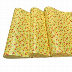 Custom flower wrapping tissue paper roll 17gsm and  packing grease proof paper