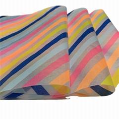 Custom logo bouquet wrapper silk tissue paper 17gsm and sandwich butter paper 40