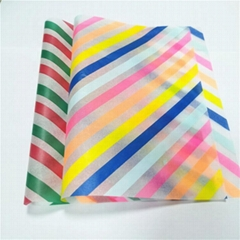 Factory tissue paper Custom logo  17gsm and gift packaging paper 22gsm custom ro