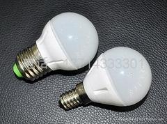 四瓦塑料球泡灯