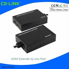 HDMI Extender by one Fiber