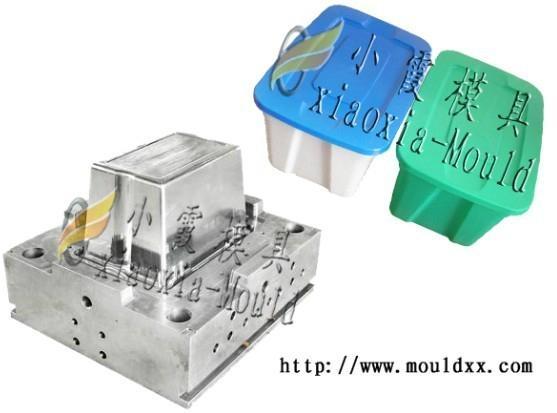 制造塑料周转箱模具 5