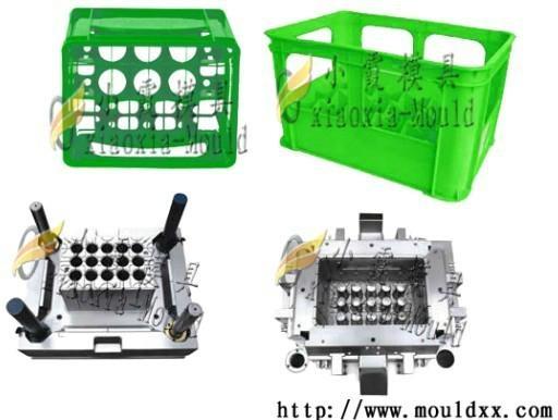 开发塑料周转箱模具 1