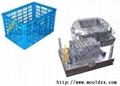 开发塑料周转箱模具 2