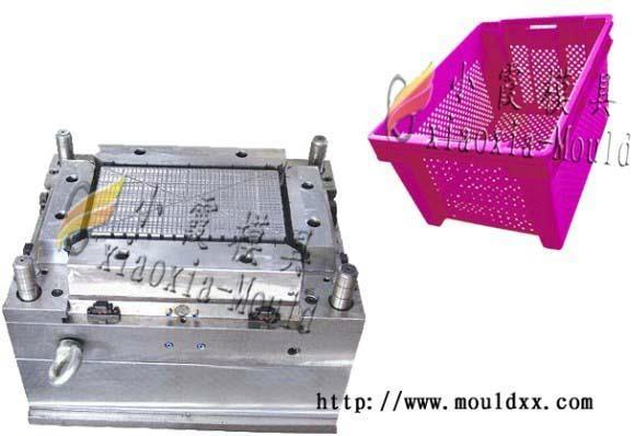 开发塑料周转箱模具 3