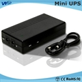 2015~2016 Hotest sales 12V 2A Power Supply mini dc online UPS battery for router 1