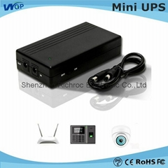 Portable power supply 12V lithium battery home ADSL router power online dc mini