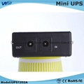 Portable power supply 12V lithium battery home ADSL router power online dc mini  3