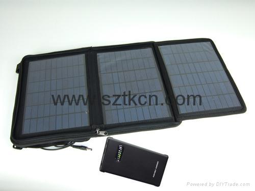 SOLAR LAPTOP CHARGER(UNIVERSAL SOLAR CHARGER VSC-08) 2