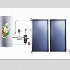 split pressurized solar thermal system