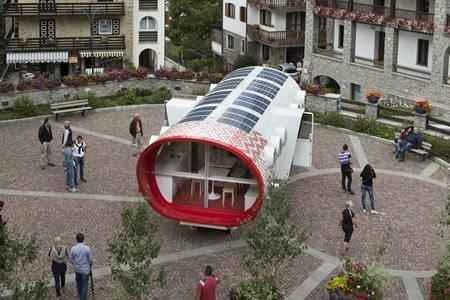 solar roof power sysem