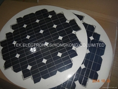 round shape flexible solar panel 63W