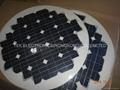 round shape flexible solar panel 63W/round flexible solar panel