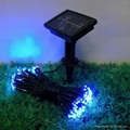solar  LED fairy string lights 100LED 17m/Solar LED string