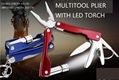 multitool plier/multitool pocket knife with LED flashlight