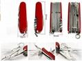 30 in 1 multifunction knife/swiss army knife/multitool knife