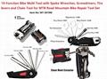 19-Function Bike Multi Tool/bicycle tool