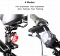 USB Rechargeable Bike Light Set/BICYCLE FRONT AND TAILLIGHT