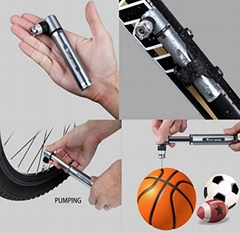 bicycle mini pump/bike mini pump/bike pump