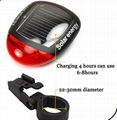 solar bicycle taillight/solar bicycle tail light
