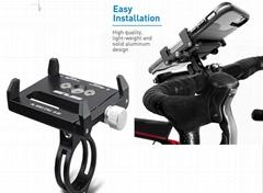 bicycle/bike/motocycle aluminium phone holder
