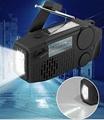 weather radio/emergency radio/solar hand crank radio