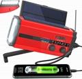 Solar dynamo radio/hand crank radio