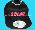 Solar cooling cap 2
