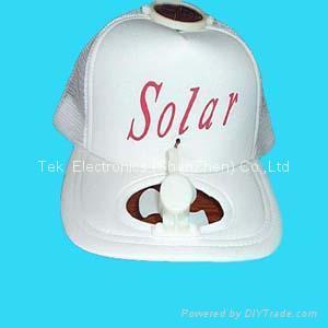 Solar cooling cap 3