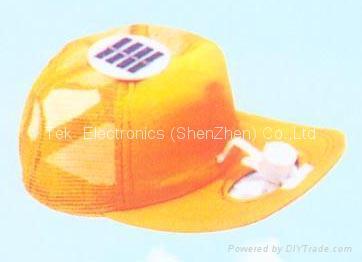 Solar cooling cap 4