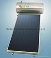 Flat panel solar water heater 1