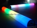 LED full color hurdle tube