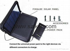 SOLAR LAPTOP CHARGER(UNIVERSAL SOLAR CHARGER VSC-08)