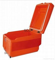 Insulated food delivery box