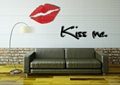 3D鏡面立體亞克力妖艷紅唇牆貼臥室沙發背景牆客廳kissme唇印 3