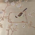 hinoiserie hand painted wallpaper on gold foil metallic for home hotel  4