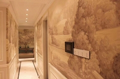Panoramic wallpaper handpainted wallpaper on scenic paper, panoramic murals