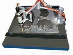 气压型玻璃手动异形机