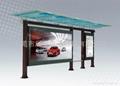 公交車亭雙面靜止燈箱
