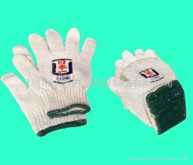 Cotton gloves, I the Shenzhen cotton gloves, I cotton yarn glove manufacturer 1
