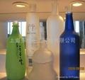 酒瓶玻璃蒙砂粉 1