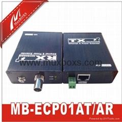 网络电源同轴线传输器络