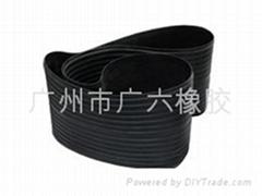橡胶环型带