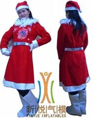 毛绒圣诞服装租售
