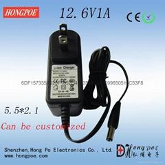4.2V8.4V12.6V16.8V锂电池充电器