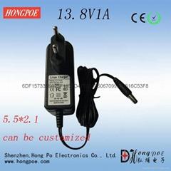 7.2V1A 13.8V1A 铅酸电池充电器