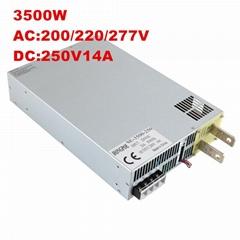 3500W250V14A 大功率開關電源DC250V14A恆壓恆流 0-250V可調電源