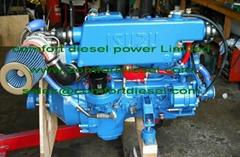 Isuzu marine engine