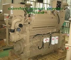 Cummins KT19-M marine engine